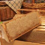 Мёд в сотах разнотравье, 850 г. +/- 50 г.